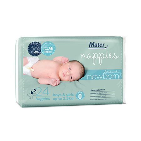 Introducing Mater Nappies - Newborn First Weeks