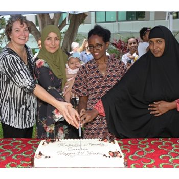 Refugee Maternity Service celebrates 10 year milestone