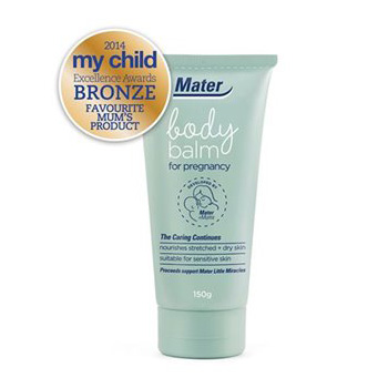 Mater Body Balm for pregnancy wins bronze award