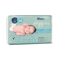 Channel Seven News Brisbane: Mater Mothers' Develops Nappies