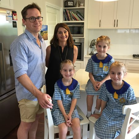 Mater triplets celebrate another milestone