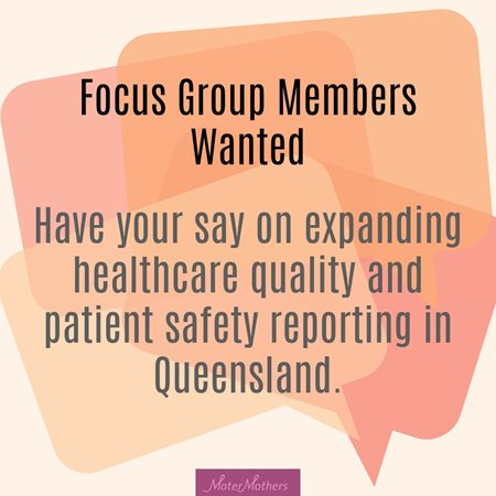 Focus Group Members Wanted