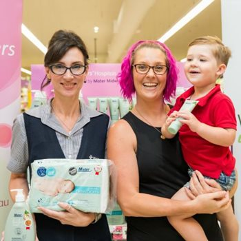Mater products' official launch in Woolworths Supermarkets