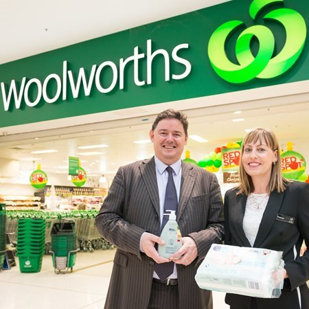 Mater products in selected Woolworths Supermarkets