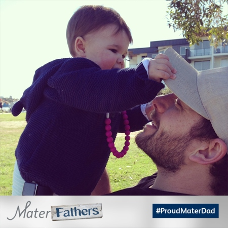Share your #ProudMaterDad moments for a chance to win!