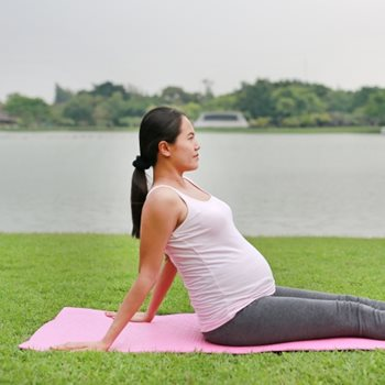 Being active and managing stress through pregnancy