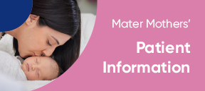 Mother Mothers' Private Brisbane Patient Information